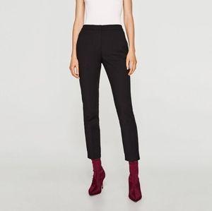 NWT Zara Small Black Jogger Waist Trouser Pants